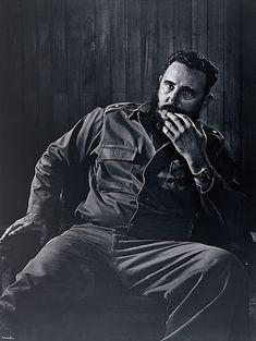 Fidel Castro, 1971. by Yousuf Karsh