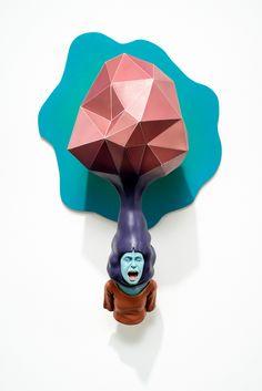 "On View: Troy Coulterman's ""Digital Handshake"" at MacKenzie Art Gallery | Hi-Fructose Magazine"