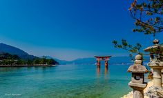 Itsukushima Shinto Shrine.