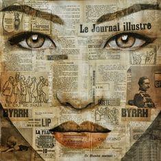 Pauline Gagnon, 1955 ~ Enigmatic eyes   Tutt'Art@   Pittura * Scultura * Poesia * Musica  