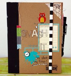 swooning over this smash book!