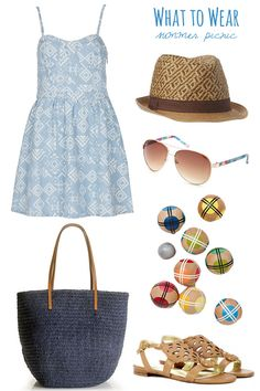 What to wear to a summer picnic