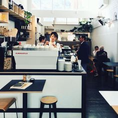 Espresso bar at @wynyardcafe in Melbourne   @keeganbakker  #acmecups #specialtycoffee #acmeforlife  (at Wynyard)