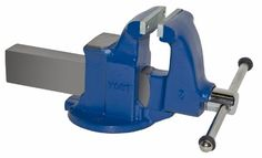 Yost Vises 105 5″ Machinist Vise with Stationary Base, Made in US  http://www.handtoolskit.com/yost-vises-105-5-machinist-vise-with-stationary-base-made-in-us/