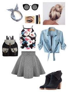 """""""Untitled #204"""" by alessandradamas ❤ liked on Polyvore featuring UGG Australia, Rampage, Quay and Chanel"""