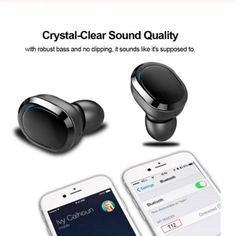 HA T12 TWS Bluetooth 5.0 Wireless Mini Sports Earbuds True Wireless Stereo Handsfree- Black Main Features T12 TWS Bluetooth 5.0 Earphones Sport in-Ear Wireless Earbuds Stereo Bass Cordless Headphones Mini Twins Headset Features��oTruly Wireless Stereo Earphones,No-cable convoluted,enjoy walk and jog freelyBluetooth V5.0 makes more fast,more stable in wireless transmission,Both earbuds has hands-free calling functionBluetooth Vaild Range:Over 10MAmbient Sound Monitoring(L&R Earbud),While list Cordless Headphones, Wireless Earbuds, Bluetooth, Sport Earbuds, Headset, Usb, Mini, Sports, Black