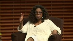Why it's so important to take care of yourself with Oprah Winfrey