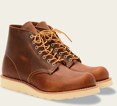 Red Wing Classic Round 9111 Copper Rough & Tough