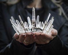Diadème en crystal