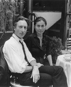 * John Lennon and Yoko Ono. * 20 August 1980.