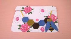 Collier ruche d'abeille géométrique avec abeille : Collier par magalily