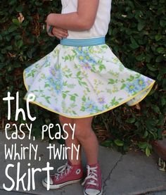 tutorial - I like the easy, peasy part and love how it twirls.
