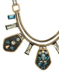 Blue streak necklace.  Available until Dec 31,2014