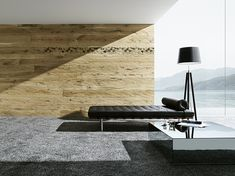 LANDWAND roh natur Eames, Lounge, Chair, Modern, Furniture, Home Decor, Google, Wood Grain, Wall Panelling