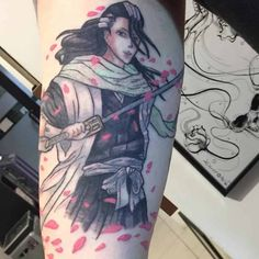 Top Tattoos, Great Tattoos, Small Tattoos, Manga Tattoo, Anime Tattoos, Bleach Swords, Bleach Tattoo, Kenpachi Zaraki, Tattoo Ideas
