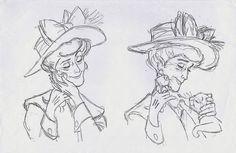 The aristocats. An appreciation to the wonderful animation of Milt Kahl. Disney Pixar, Disney Art, Disney Songs, Walt Disney Animation Studios, Disney Sketches, Disney Drawings, Disney Princess Quotes, Disney Quotes, Animation Sketches