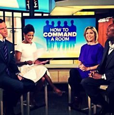 How to Command a Room. A must watch video from More Magazine's ( magazine) Editor on The Today Show ( . Magazine Editor, Today Show, Working Woman, Watch Video, Wednesday, Career, Bring It On, Room, Women