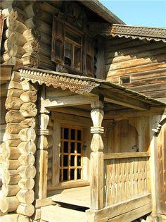 Славянские древности - Витославлицы - музей деревянного зодчества