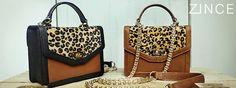 Zince classic : Mini satchel : Leo : Black , Tan brown  / For more information pls follow the link zinceshop.com or facebook/zince  or email : zinceshop@hotmail.com