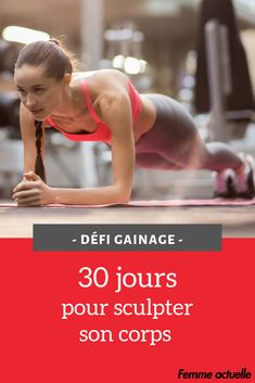 Défi gainage : 30 jours pour sculpter son corps - Allison Pin World Sports Day, Sports Basketball, Ab Workout At Home, At Home Workouts, Sculpter Son Corps, Workout Posters, Sport Body, Sport Sport, Sport Photography