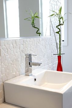 Explore exciting rooms for your next reno in our room ideas gallery. Find all the renovation ideas in our bathroom, kitchen, outdoor galleries & more. Beaumont Tiles, Bathroom Renos, Sink, Inspiration, Texture, Home Decor, Sink Tops, Biblical Inspiration, Surface Finish