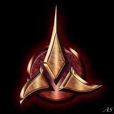 klingon | star trek klingon logo