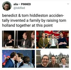 Tom Holland now has like 8 marvel dads and you cannot convince me otherwise