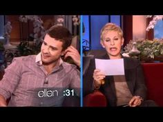 Justin Timberlake Knows Dialogues From Movies - #movies #JustinTimberlake #Ellen