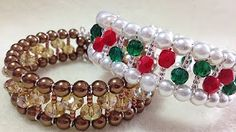 Instructions for Making the Memory Wire Noodle Bead Bracelet Kit - YouTube