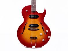 The Loar Thin Hollowbody Electric Guitar Thing 1, Guitars, Electric, Products, Guitar, Beauty Products, Vintage Guitars