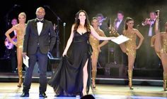 Lorena Baricalla as Ambassadress and Master of Ceremonies in 5 languages  with her corps de ballet and orchestra