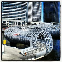 Nothing better to do on a sunny day than to explore Melbourne's Docklands.
