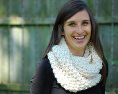 Chunky Knit Cowl Pattern