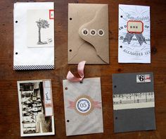 dec daily...great idea to use envelopes !