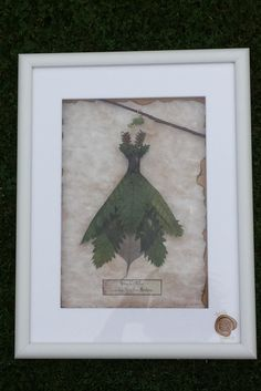 Framed Fairy Dress worn by Ellyllon  Guardian by TheThistleGallery