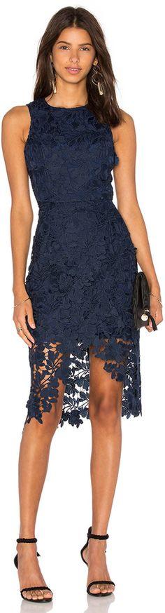 Keepsake Say My Name Lace Dress