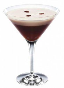 Espresso Martini - took me a minute to find the right recipe. My absolute favorite cocktail EVER!