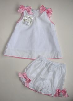Personalized baby girl outfit