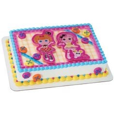 Lalaloopsy Cake Topper & Cookie Cutter Set | LalaloopsyParty.com