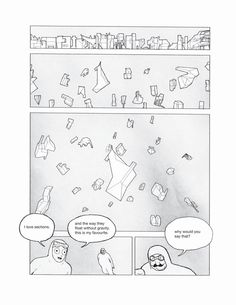 Favorite architectural comic artist: Jimenez Lai.