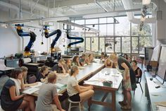 Fouts Center for Visual Arts, Whitman College — Hacker Innovation Lab, Innovation Centre, Whitman College, D School, Classroom Layout, 21st Century Learning, Maker Shop, College Classes, Co Working