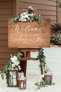 Boho Wood Welcome Sign (DIY Print)