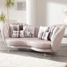The exceptionally elegant Josephine Sofa from Fama. Stylish in any fabric!