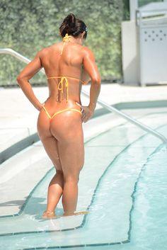 michelle8 En fotos: La venezolana Michelle Lewin exhibe su cuerpo fitness en bikini (!Se pasó de buena!)