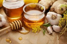 1601269418617 Honey Health Benefits, Garlic Benefits, Ginger Benefits, Herbal Remedies, Natural Remedies, Heart Blockage, Ayurvedic Herbs, Ayurveda, Natural Kitchen