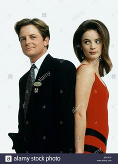 Download this stock image: MICHAEL J. FOX & GABRIELLE ANWAR THE CONCIERGE; FOR LOVE OR MONEY (1993) - BPEA7P from Alamy's library of millions of high resolution stock photos, illustrations and vectors.