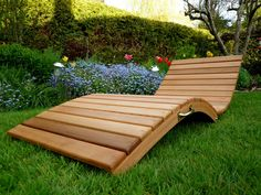BentWoodWork lawn chair. Got the mojitos? Let's lounge!
