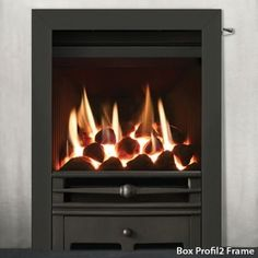 Gazco Logic HE Chartwell Convector Gas Fire | Flames.co.uk