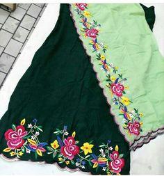 AARZOO KAUR✔ Punjabi Dress Design, Designer Punjabi Suits Patiala, Women Salwar Suit, Patiala Salwar Suits, Indian Designer Suits, Indian Suits, Indian Dresses, Boutique Suits, Embroidery Suits Design