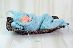 Ravelry: Cushy Cocoon Layette pattern by Kate Oates